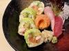 Tapas de sushis/ sashimis